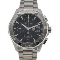 TAG Heuer Aquaracer 43 Chronograph Black Dial