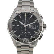 TAG Heuer Aquaracer 43 Chronograph Black Dial Calibre 16