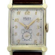 Gruen Mans Wristwatch, Curvex Precision