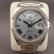 Rolex Day-Date 40 Platinum Ice Blue