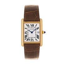Cartier Tank Louis Quartz Mens Watch Ref W1529756