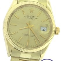 Rolex Oyster Perpetual Date 34mm 14K Yellow Gold 1503 Watch