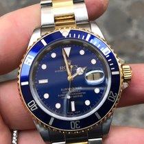 Rolex Submariner 16613 Oro Acciaio Gold steel SEL bellissimo