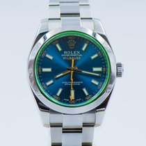 Rolex Milgauss ref. 116400 GV BLUE