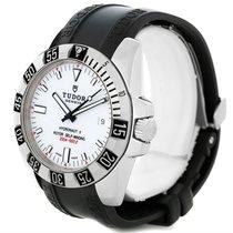 Tudor Hydronaut Ii White Dial Mens Steel Watch 20040
