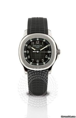 Patek Philippe Aquanaut Stainless Steel Mens Watch 5165A