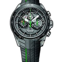 Graham Silverstone RS Skeleton Green in Steel