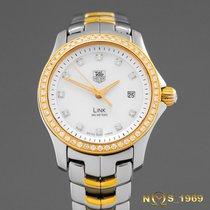 TAG Heuer Link S.Steel&18K Gold Mop Dial&Diamonds...