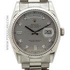 Rolex 18k white gold Gent's Day/Date