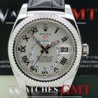 Rolex Sky Dweller White Gold White
