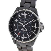 Chanel J12 GMT Black Ceramic Watch