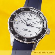 IWC Aquatimer 2000 Meter Edelstahl Automatik Herrenuhr Ref. 3568