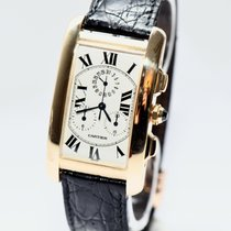 Cartier Tank Americaine 18K Yellow Gold Chronograph ref.1730