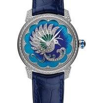 Ulysse Nardin Classico 18K White Gold & Diamonds Ladies Watch