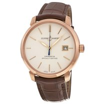 Ulysse Nardin San Marco Classico Ivory Dial Mens Watch...