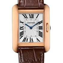 Cartier W5310042 Tank Anglaise 34.7mm Quartz in Rose Gold - On...