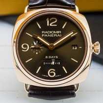 Panerai PAM00395 Radiomir 8 Days GMT Oro Roso Special Edition...
