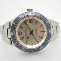 Tudor Prince OysterDate Roto Self-Winding 9121/0S S. Steel Watch