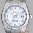 Rolex パーペチュアル デイトジャスト レディース ホワイトローマ Datejust Lady White