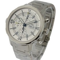 IWC IW376802 Aquatimer Chronograph 44mm in Steel - on Steel...