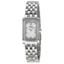 Longines DolceVita Mini White Mother of Pearl Dial Ladies Watch