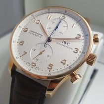 IWC Cally - IW371480 Portuguese Chronograph Automatic Rose Gold