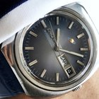 Enicar Day Date watch blue dial  Automatik Automatic Vintage