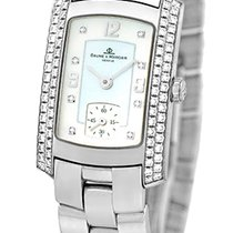 "Baume & Mercier Lady's 18K White Gold  ""Hampton..."