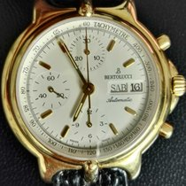 Bertolucci Pulchra Chronograph Day Date in Yellow Gold 18 kt