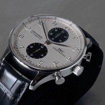 IWC Portugieser Portuguese Chronograph RARE Panda Dial