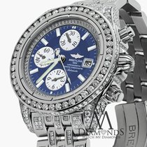 Breitling Men's Evolution Watch With Custom Added 15ct Of...