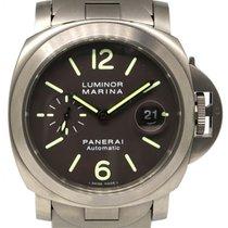 Panerai PAM 279 Luminor Marina Titanium Brown 44mm Automatic...