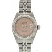 Rolex Ladies Rolex Oystel Perpetual Datejust 79174 Salmon Dial