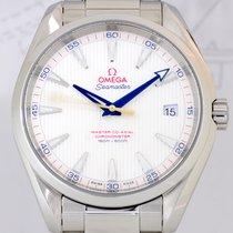 Omega Seamaster Aqua Terra 150M Date Golf 41,5 mm Cal. 8500 white