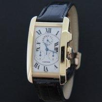 Cartier Tank Americaine Chronoflex