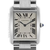 Cartier stainless steel large Tank Solo