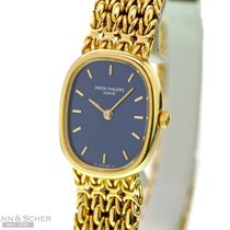 Patek Philippe Ellipse Lady Quarz Ref-4764/1 18K Yellow Gold...