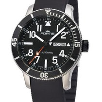 Fortis Herrenuhr B-42 Official Cosmonauts Diver Day/Date...