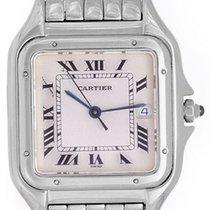 Cartier Jumbo Panther Stainless Steel Men's Quartz Watch...
