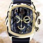 Invicta Lupah Swiss Rare Gold Plate Stainless Steel Quartz...