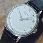 Longines Rare 1960s Vintage Manual Swiss Made Mens Stainless...