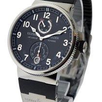 Ulysse Nardin Marine Chronometer Manufacture in Steel