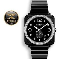 Bell & Ross - BR S Black Ceramic Diamonds