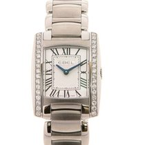 Ebel Brasilia Lady Guilloche Diamonds