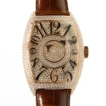 Franck Muller New  Double Mystery 18 K Rose Gold With Diamonds...