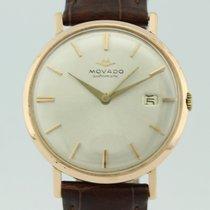 Movado Vintage 18K Gold Automatic Man