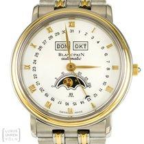Blancpain Villeret Uhr Moonphase Vollkalender Automatik Ref....