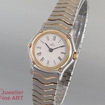 Ebel Classic Wave Edelstahl/Gold  Top Angebot