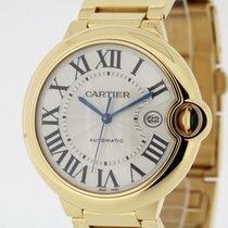 Cartier Ballon Bleu Automatic 2998 solid 18K Yellow Gold 42mm...