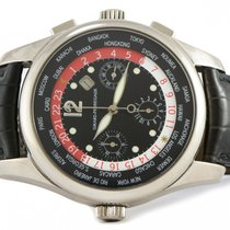 Girard Perregaux 18k White Gold WW.TC World Timer Chronograph...